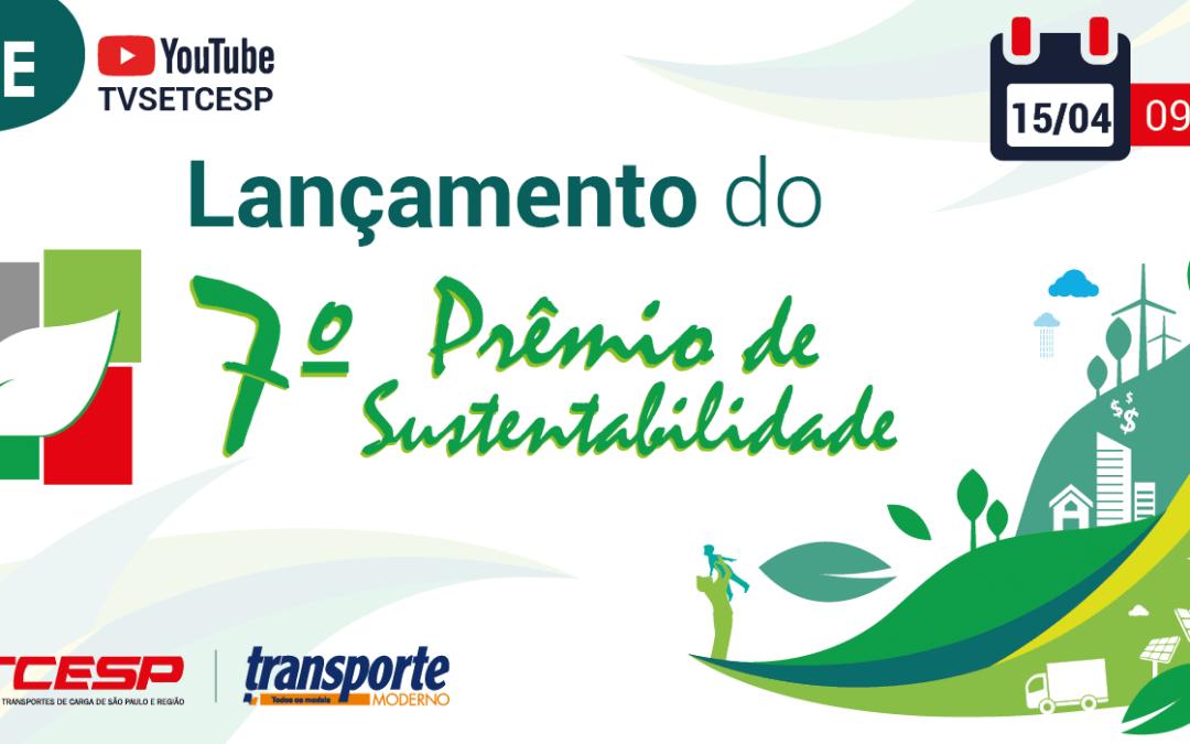 É amanhã! Live de lançamento do 7º Prêmio de Sustentabilidade