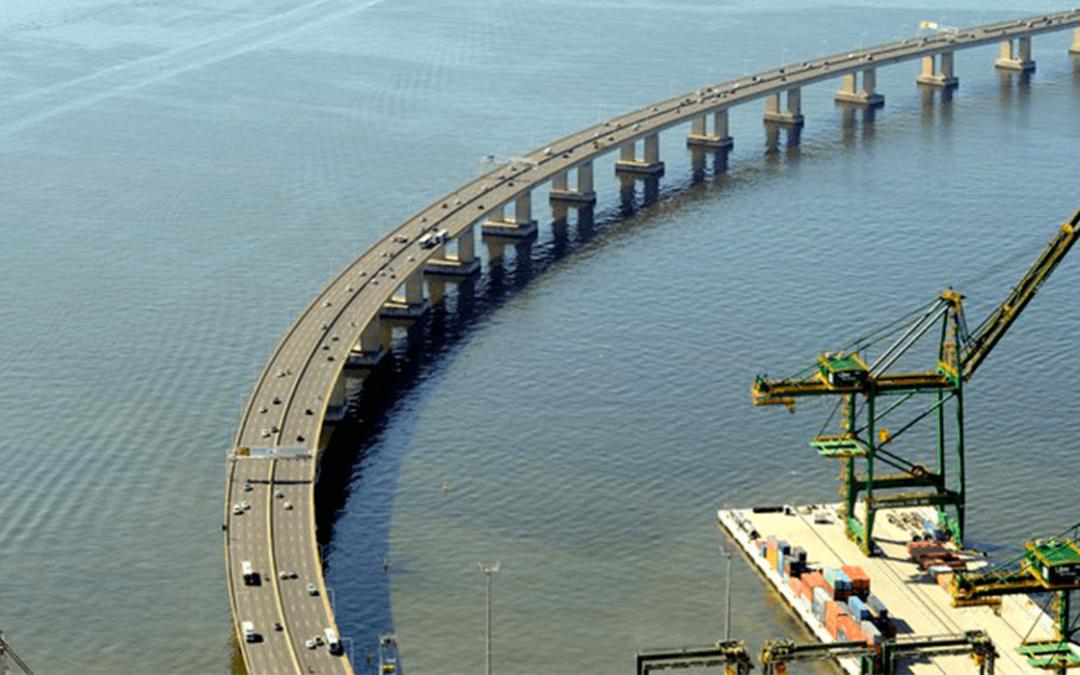 ANTT altera norma para veículos de cargas na ponte Rio-Niterói
