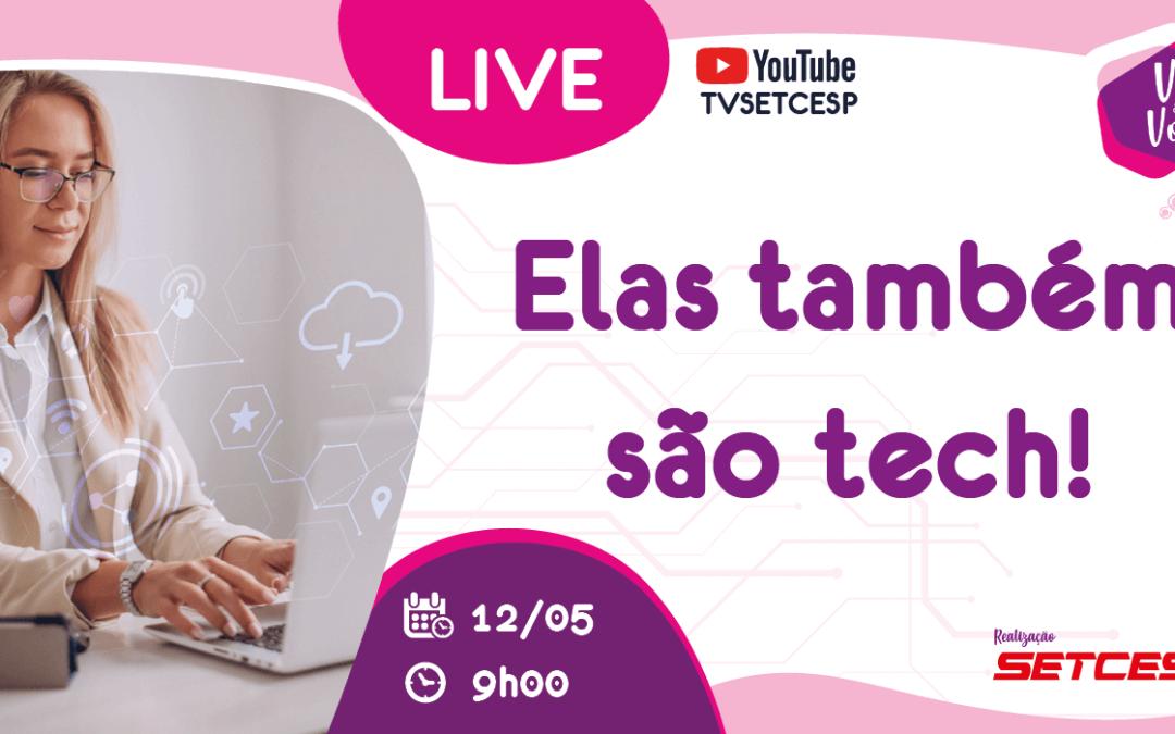 Vez & Voz marca live para falar sobre tecnologia e inovação no TRC