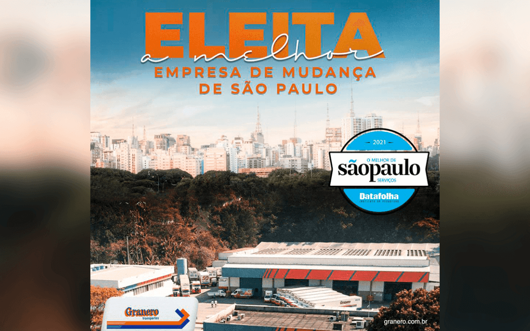 Granero é eleita a melhor empresa de transportes de São Paulo