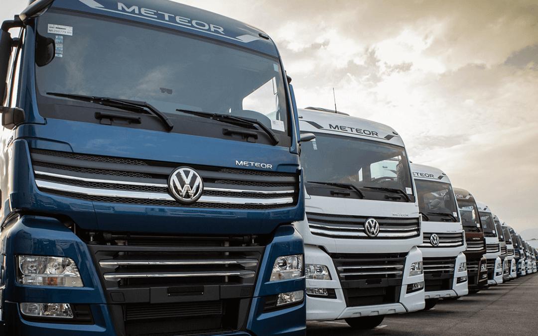 VW Caminhões ultrapassa as mil unidades emplacadas de Meteor