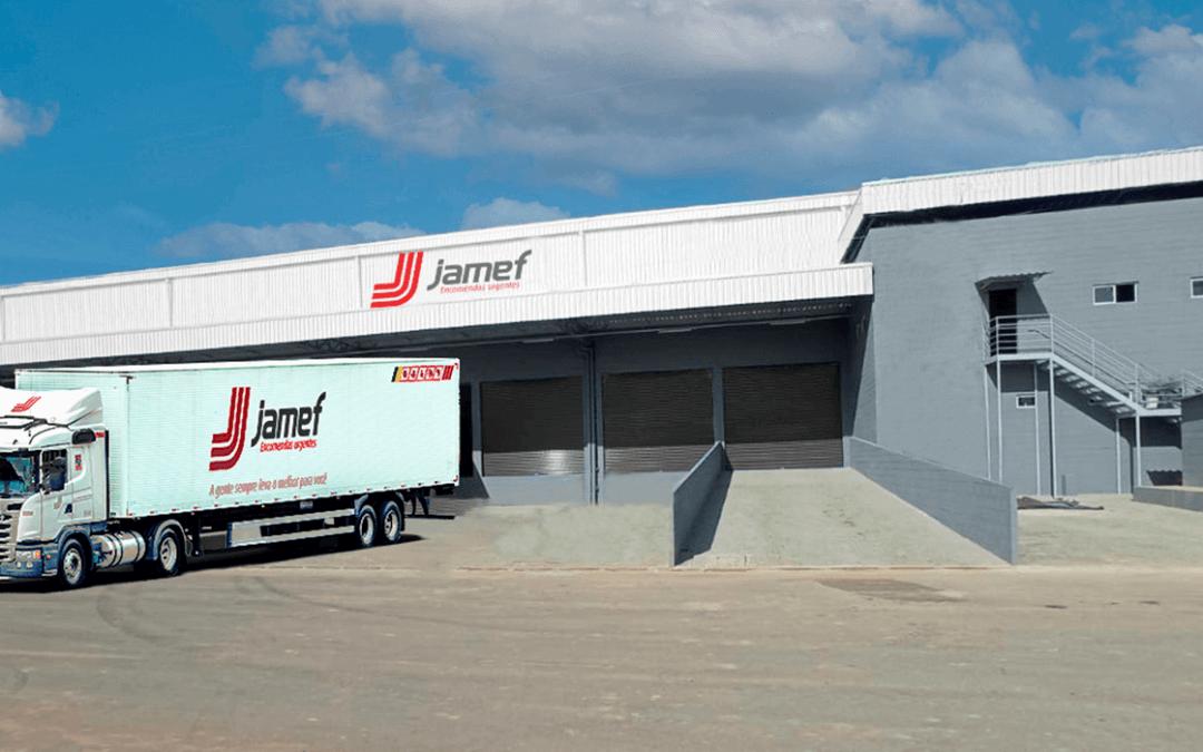 Jamef anuncia sede própria na Paraíba com nova unidade em João Pessoa