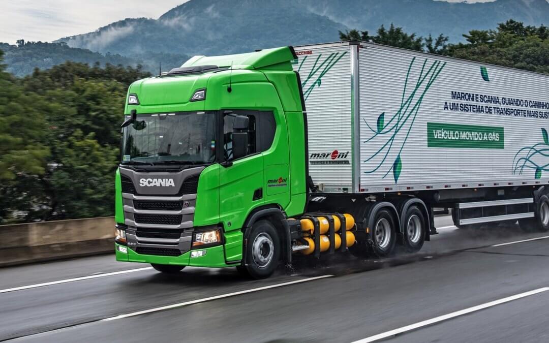 Scania vende para TransMaroni a maior frota de caminhões a gás da história do Brasil