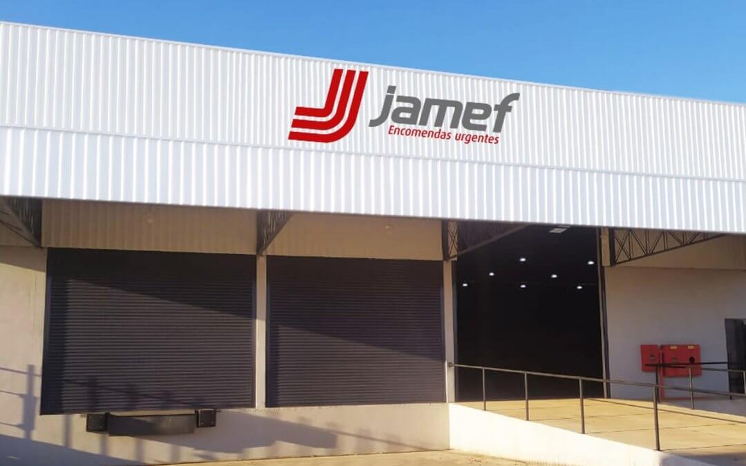 Jamef acaba de inaugurar mais uma nova filial, agora no Paraná, cidade de Maringá