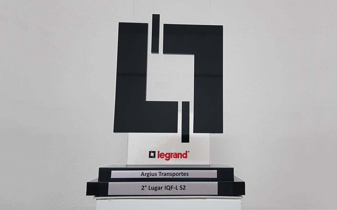 Argius recebe prêmio inédito do grupo Legrand