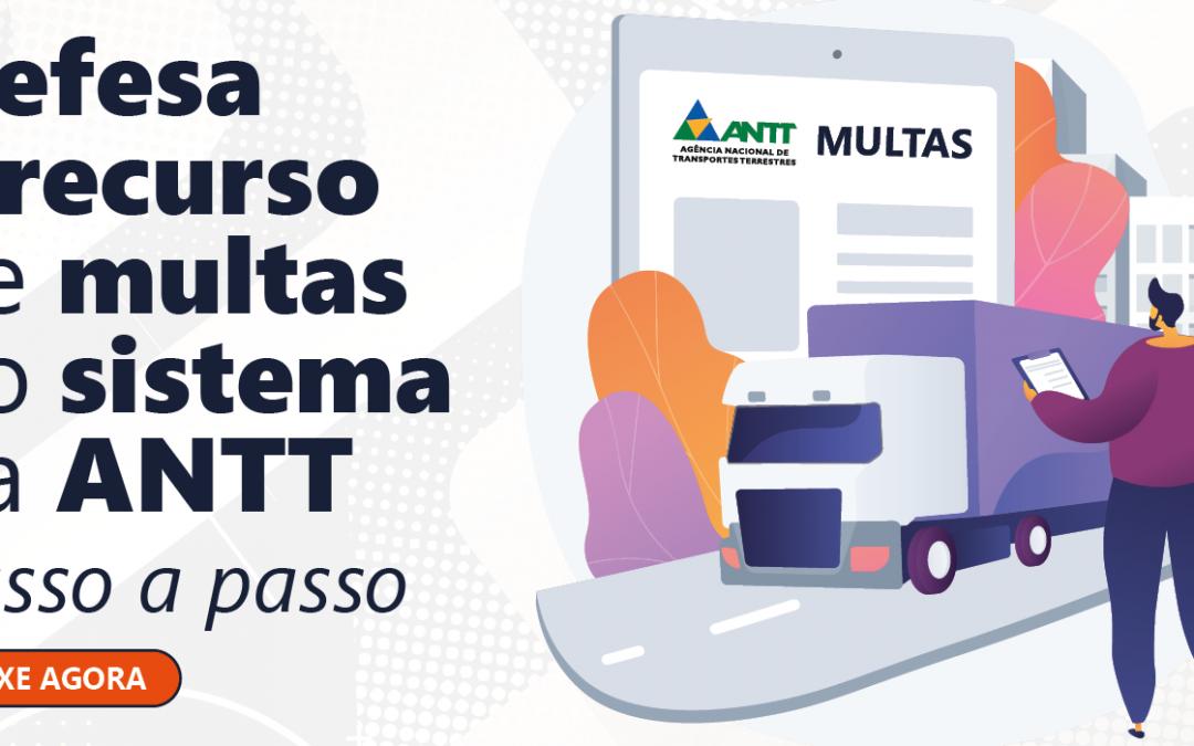 E-book gratuito: Defesa e recurso de multas no sistema da ANTT