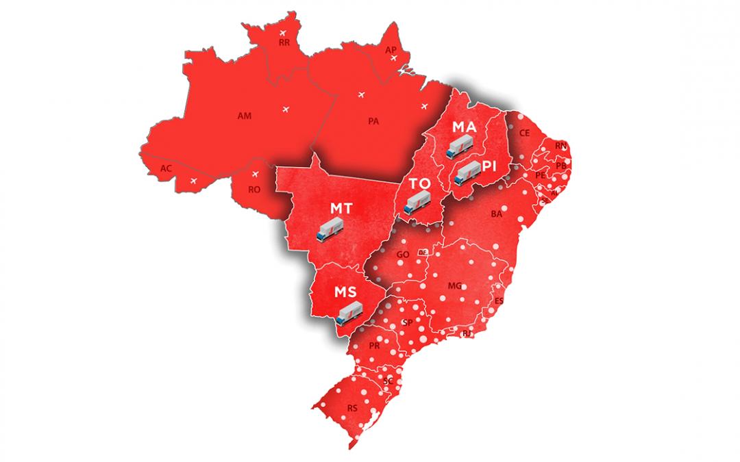Projetando crescimento nas regiões do Nordeste, Centro-Oeste e Norte do país, Jamef amplia sua operação