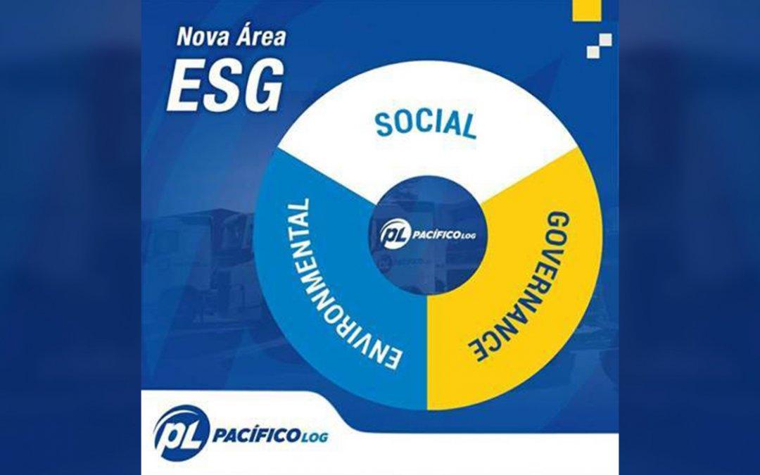 Pacífico Log cria novo departamento de ESG