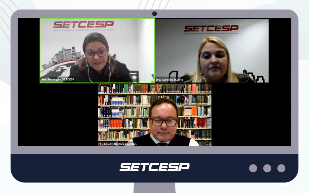 Webinar promovido pelo SETCESP esclarece dúvidas sobre as CCTs