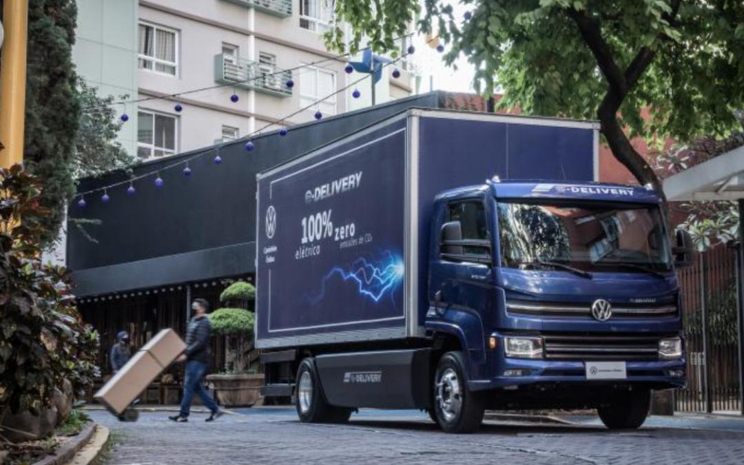 Volkswagen e-Delivery: chega ao mercado o primeiro caminhão elétrico 100% desenvolvido, testado e fabricado no Brasil