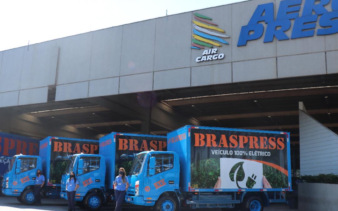 Braspress adquire veículos 100% elétricos