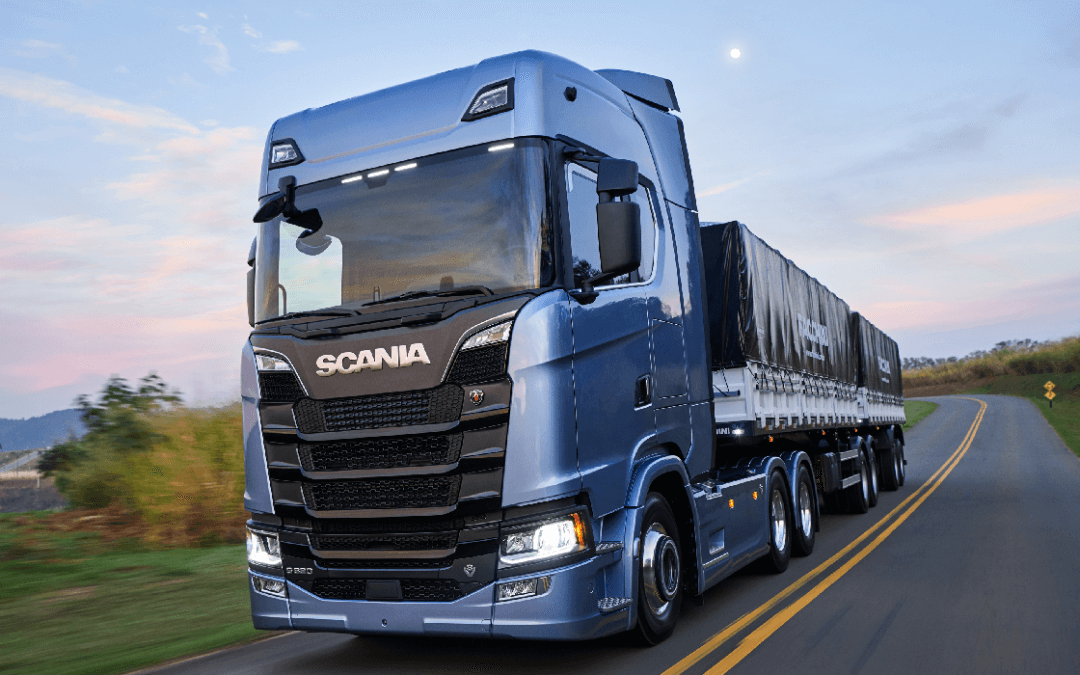 Scania comemora 64 anos de Brasil