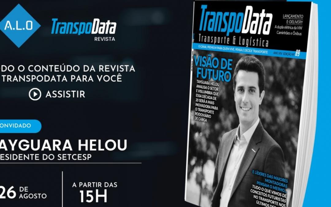 Presidente do SETCESP é o convidado de estreia do programa da Revista TranspoData