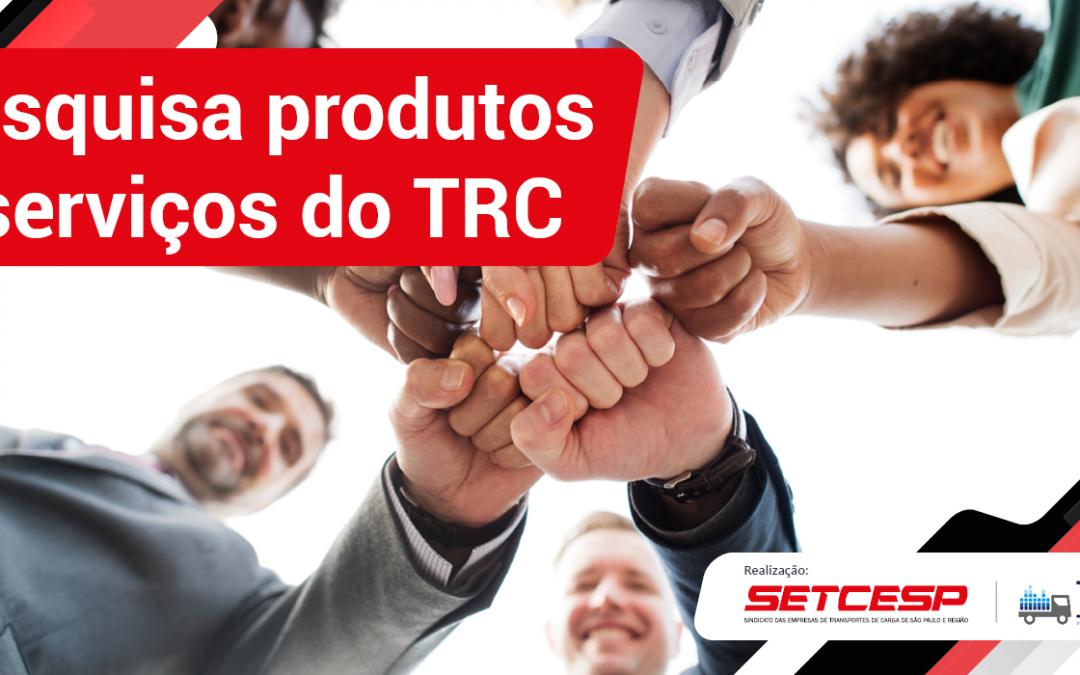 SETCESP realiza pesquisa sobre serviços do TRC