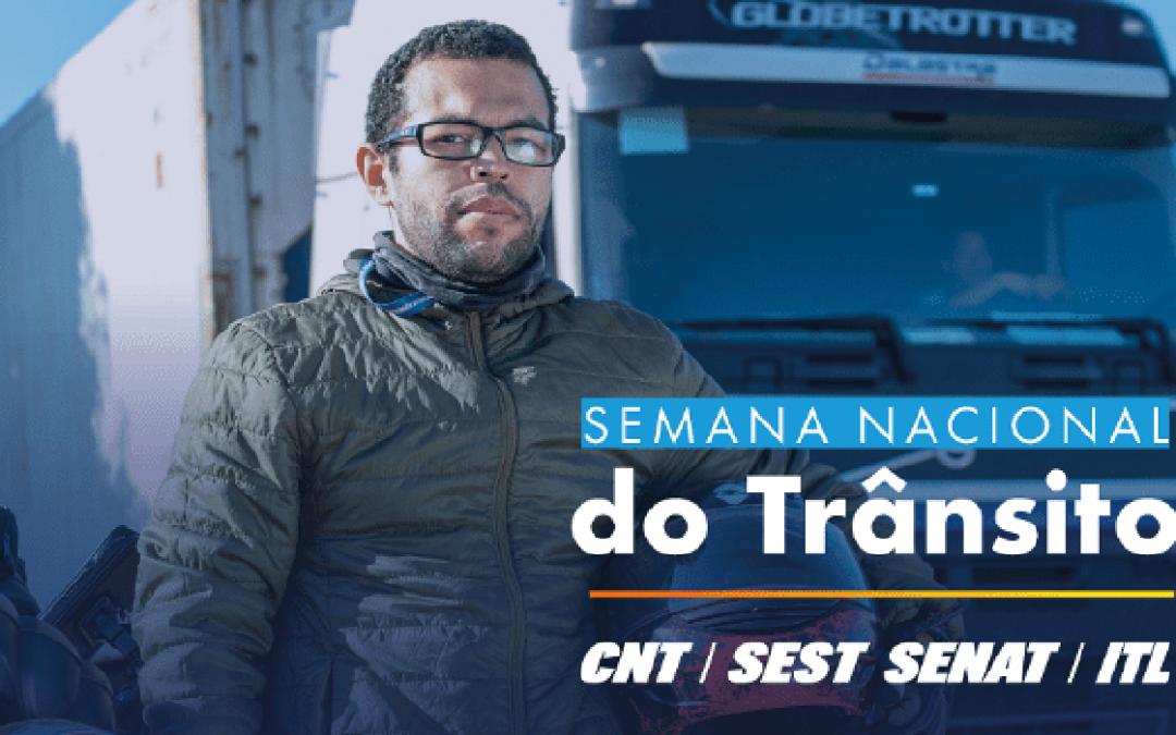 """Mobilização da Semana Nacional do Trânsito – """"SEST SENAT pela Vida"""""""