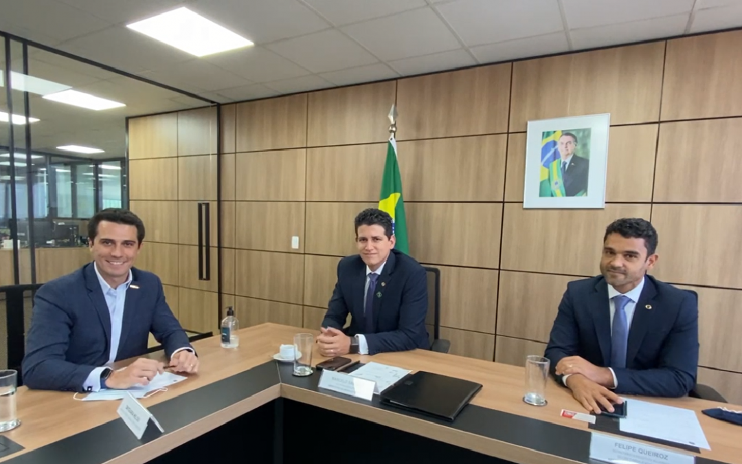 Presidente do SETCESP se reúne com secretários do Ministério da Infraestrutura