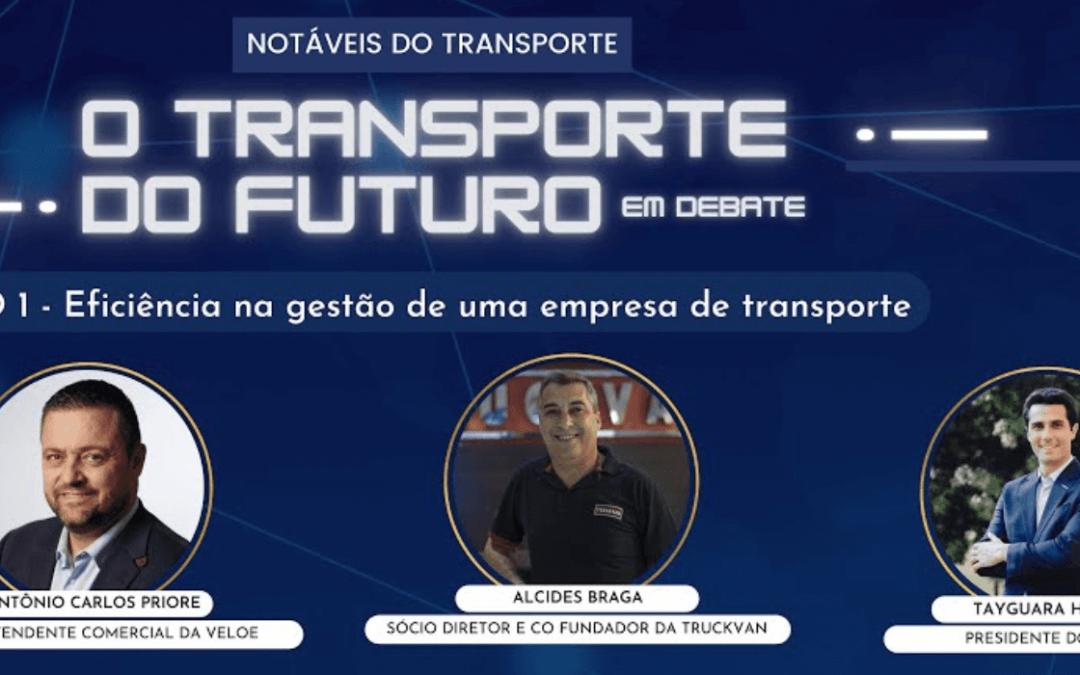 TranspoData promove conferência sobre o futuro do transporte de cargas