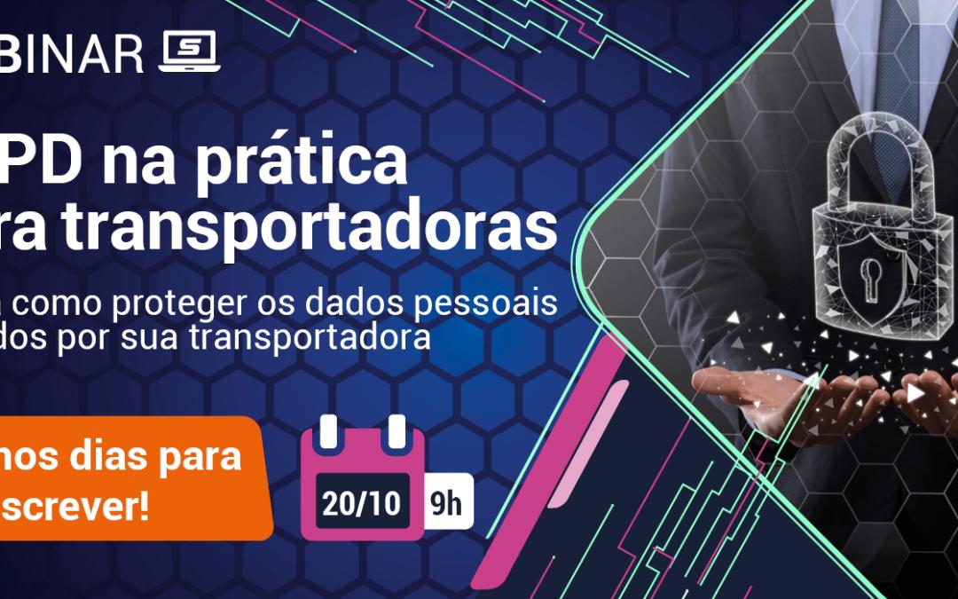 Aplicação da LGPD em empresas de transporte é tema de Webinar do SETCESP
