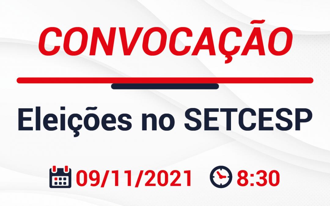 Informações sobre as eleições do SETCESP