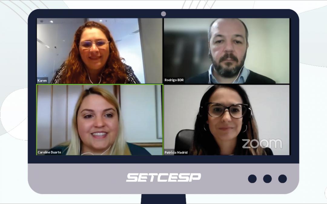 SETCESP promove webinar para esclarecer dúvidas sobre a LGPD
