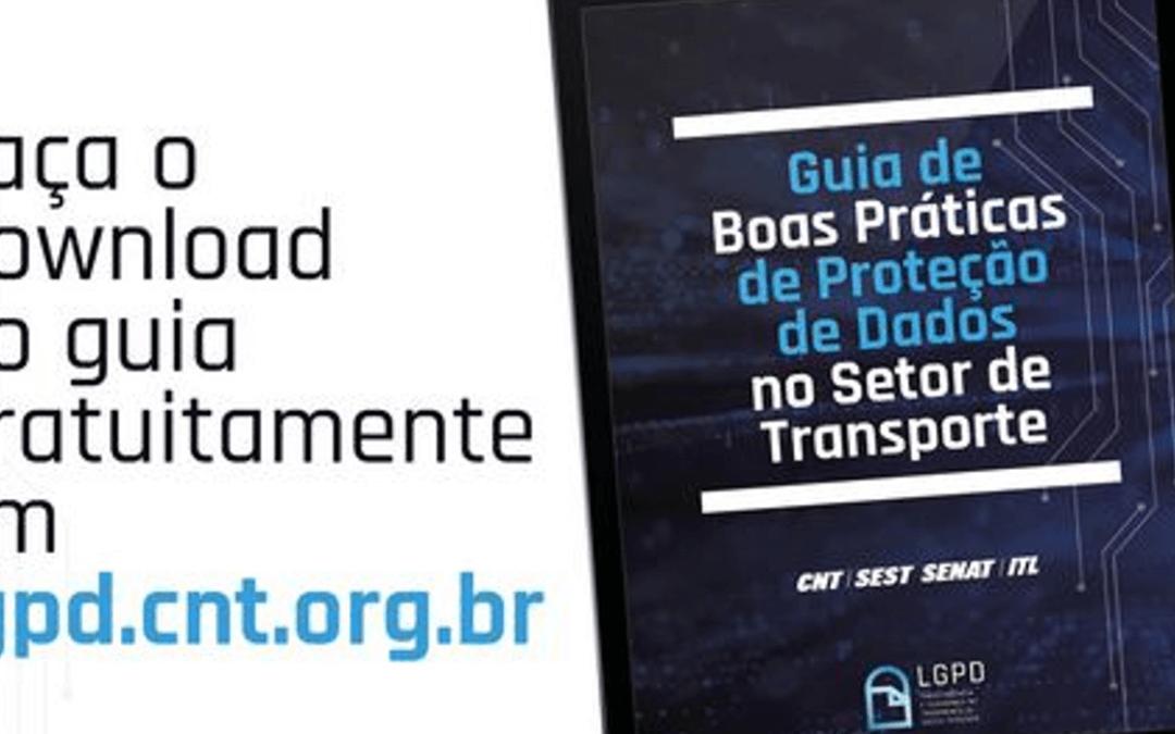Sistema CNT lança Guia de Boas Práticas de Proteção de Dados no Setor de Transporte